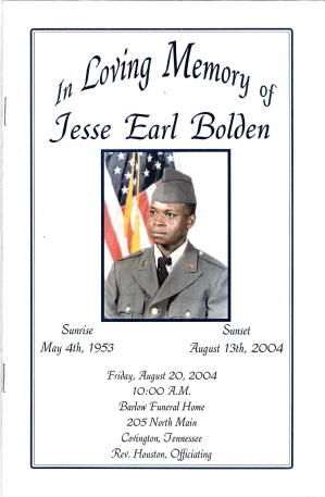 Jesse Earl Bolden (5th Generation)